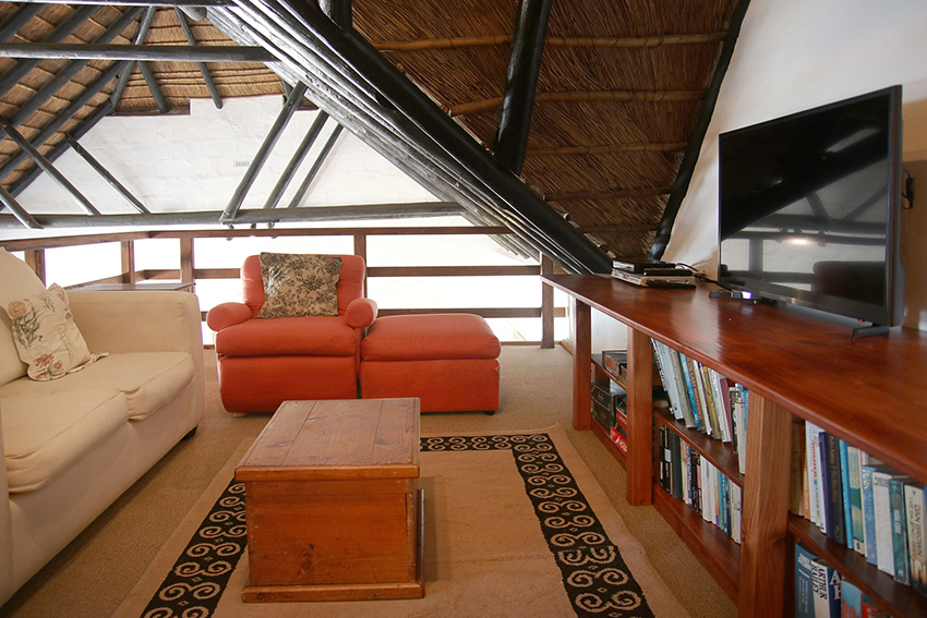 Mezzanine TV Room.